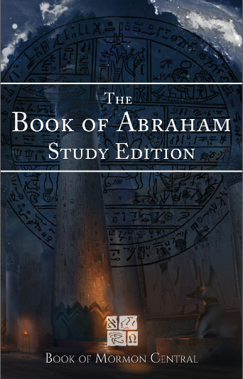 book of Abraham Study Edition cover