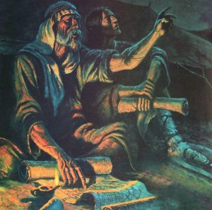 Detail from Abraham and Isaac